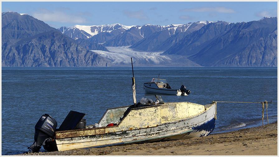 Die Gletscher schmelzen
