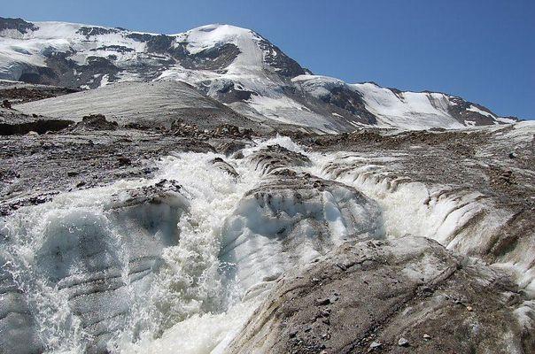 Die Gletscher schmelzen ab