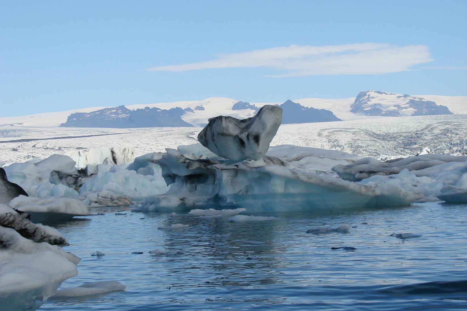 Die Gletscherwelt des Jokulsarlon