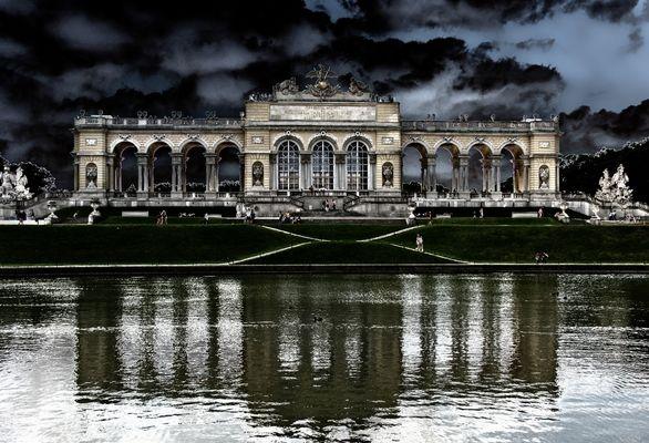 Die Gloriette im Park von Schloss Schönbrunn.BEA aus besonderem Anlass...#2201..