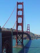die Golden Gate in San Francisco