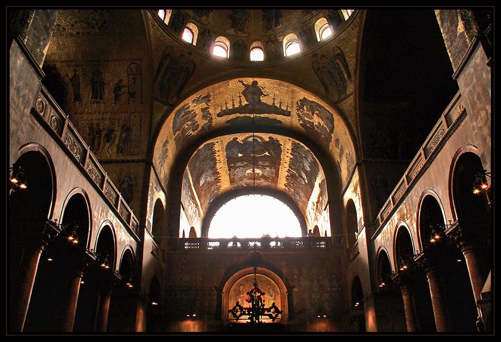 Die goldene Basilica