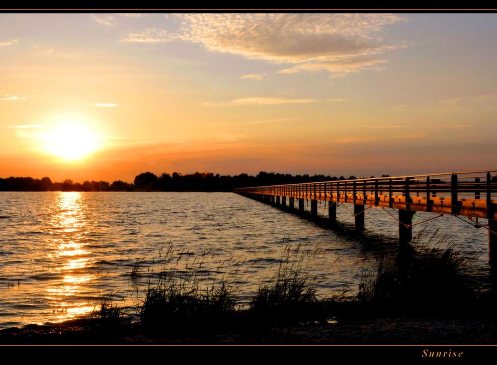 die goldene Brücke...