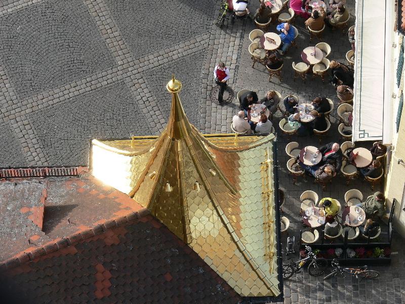 die goldenen Dächer von Schwabach
