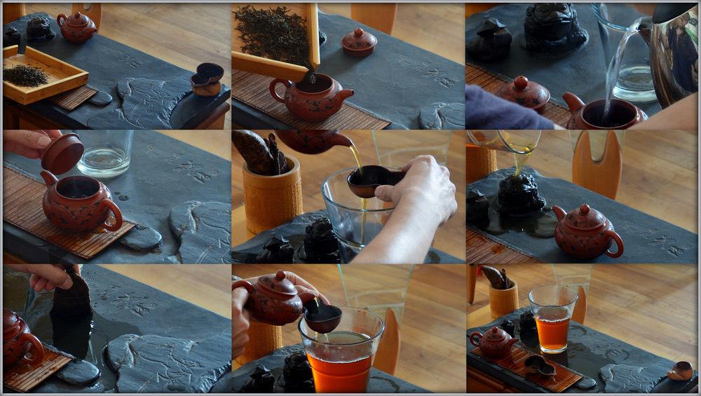 Die Gongfu Teezeremonie - Schritt für Schritt