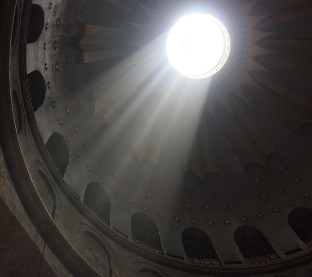 Die Grabeskirche zu Jerusalem - Lichtblicke