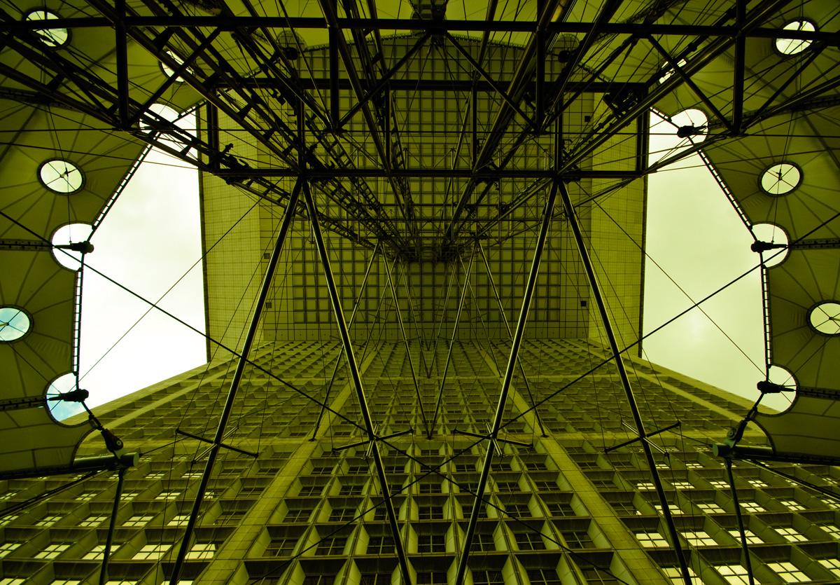 Die Grande Arche in La Défense, Paris