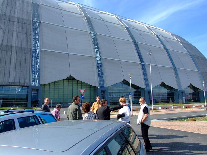 Die größte stützenfreie Halle der Welt ! (I)