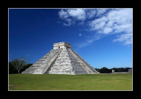 Die große Pyramide in Chichén Itza