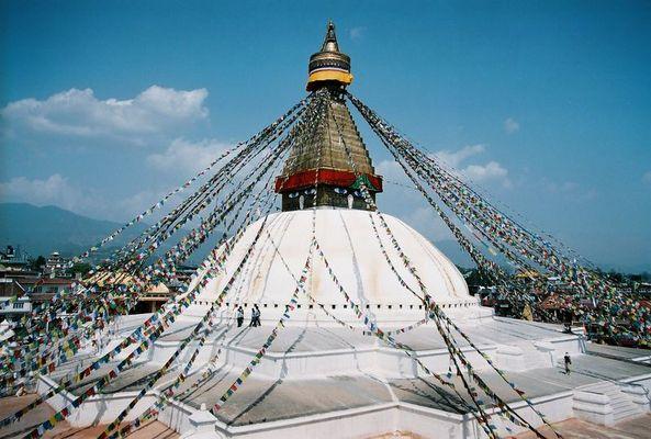 Die große Stupa von Bodnath