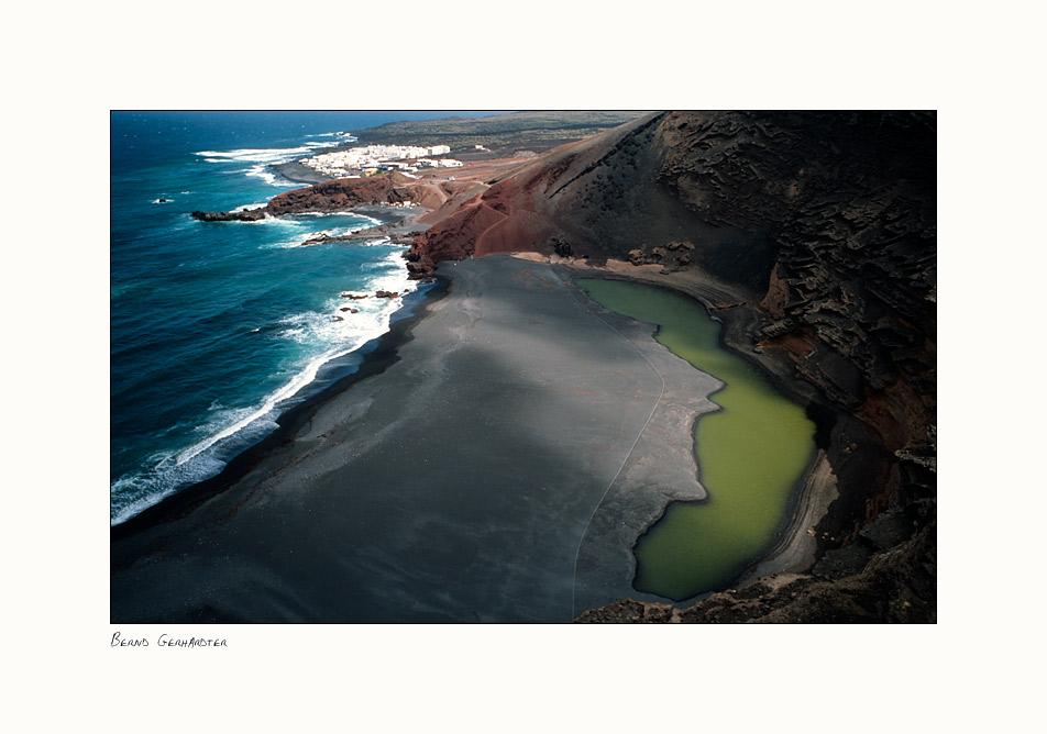 "Die grüne Lagune ""El Golfo"" I"