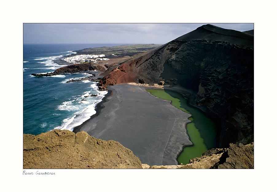 """Die grüne Lagune """"El Golfo"""" II"""