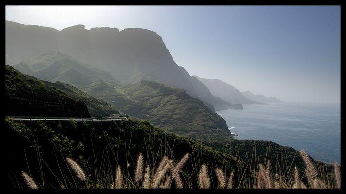Die Grüne Seite der Insel ...