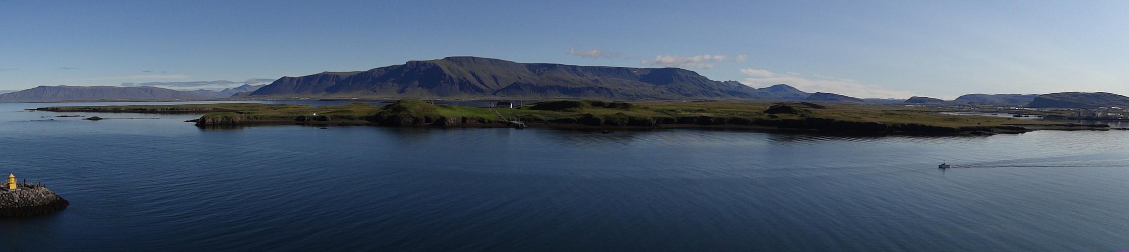 Die grüne Seite Reykjaviks