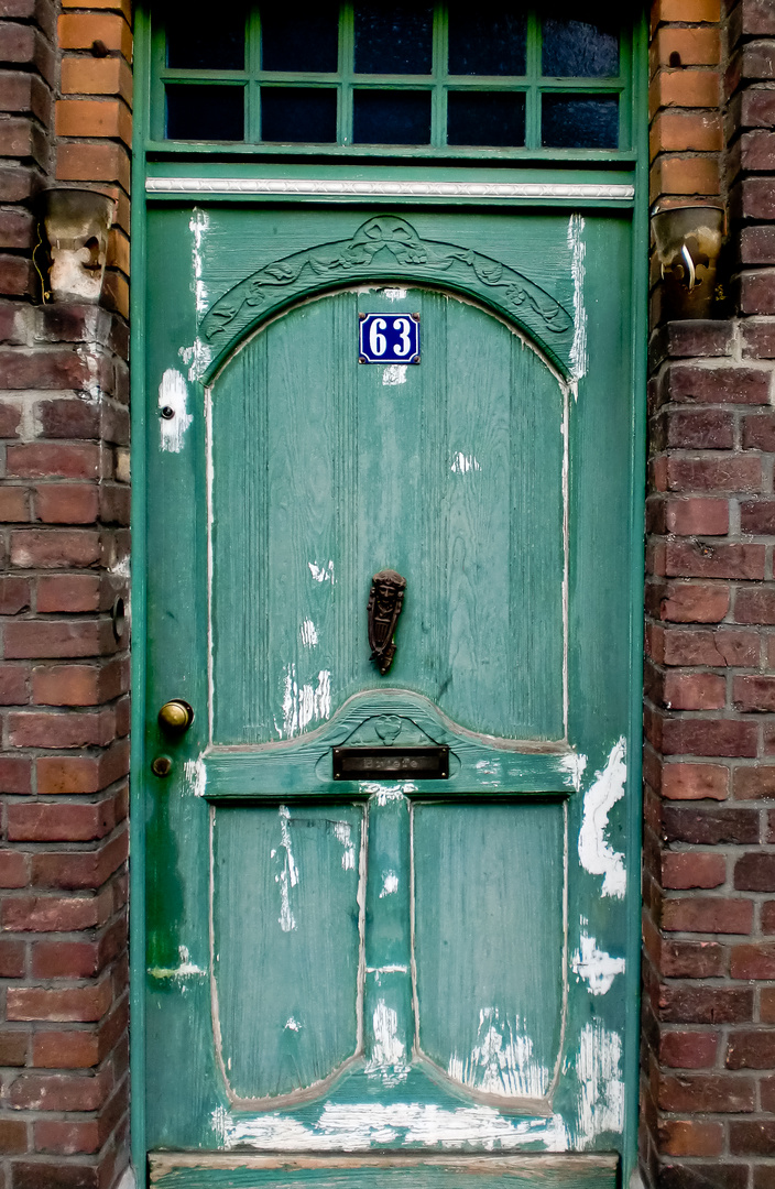 Die grüne Tür!
