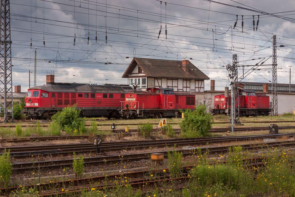Die Güterverkehrssparte in Nordhausen, 2007
