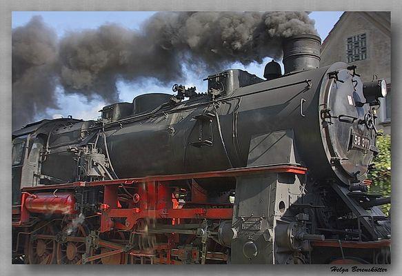 Die gute alte Dampflok 1921