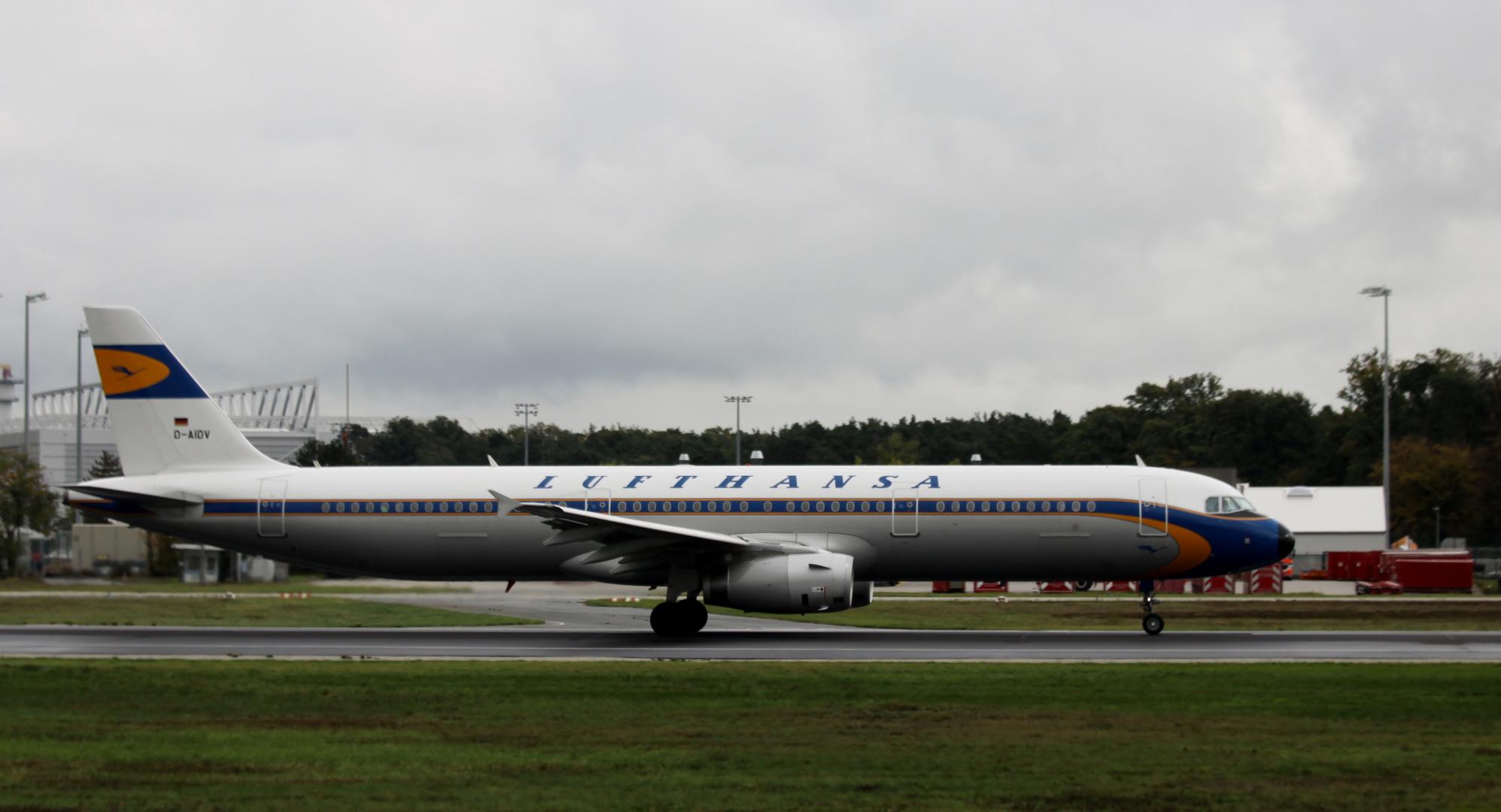 die gute alte Lufthansa
