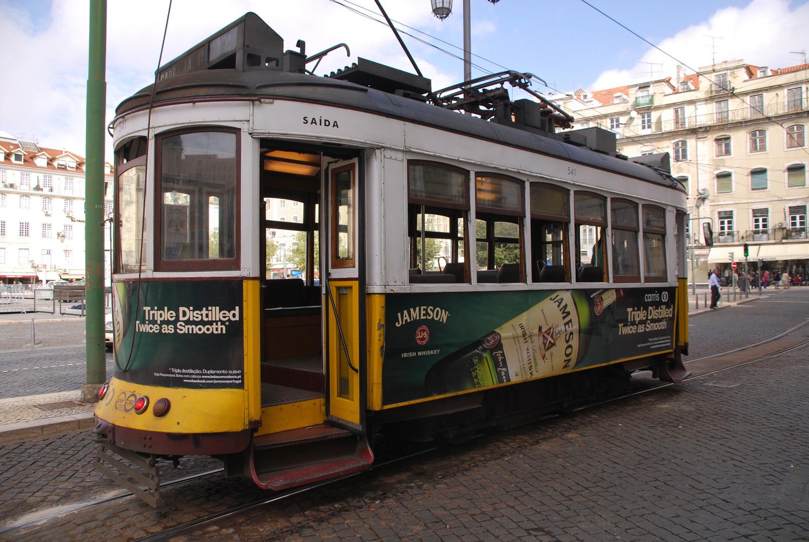die gute alte Straßenbahn