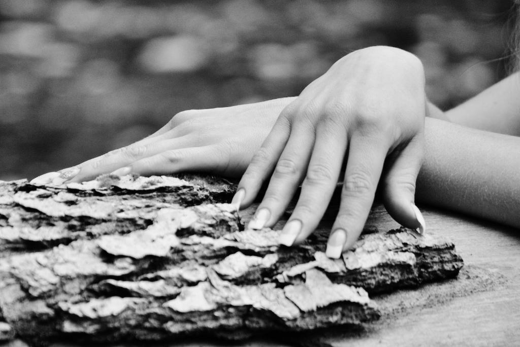 Die Hände von Kati