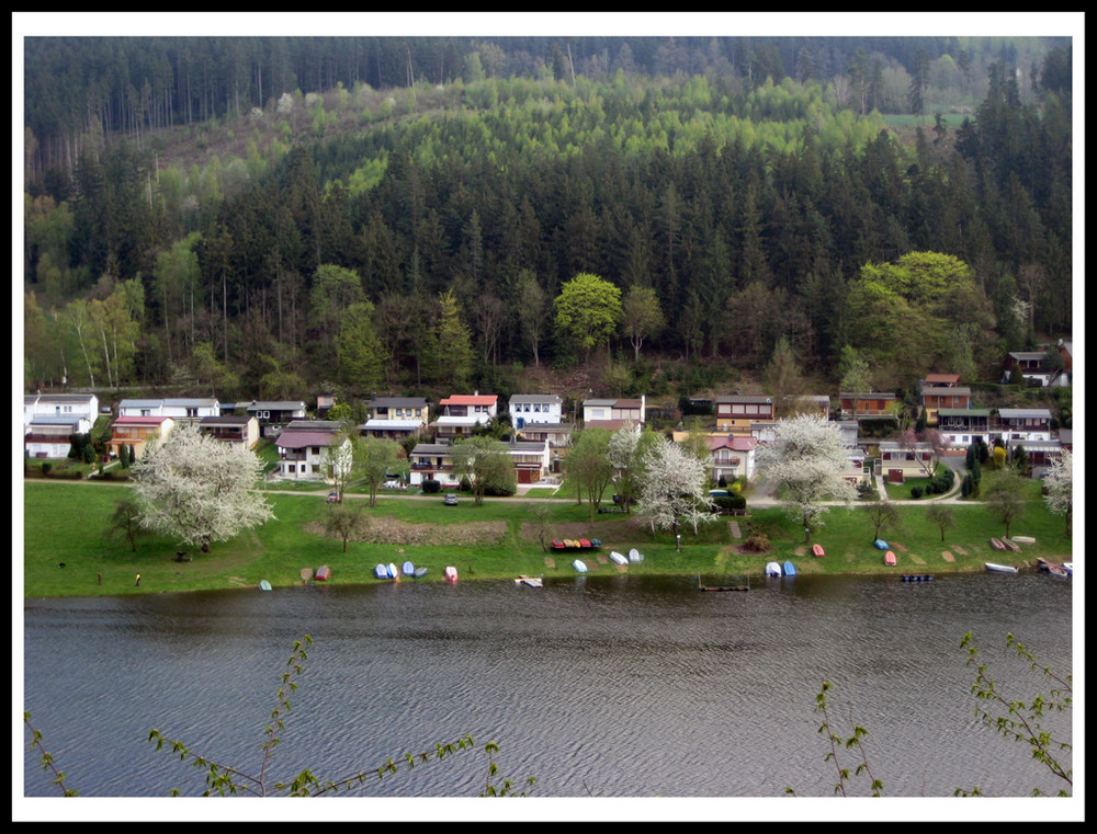 Die Häuser am See
