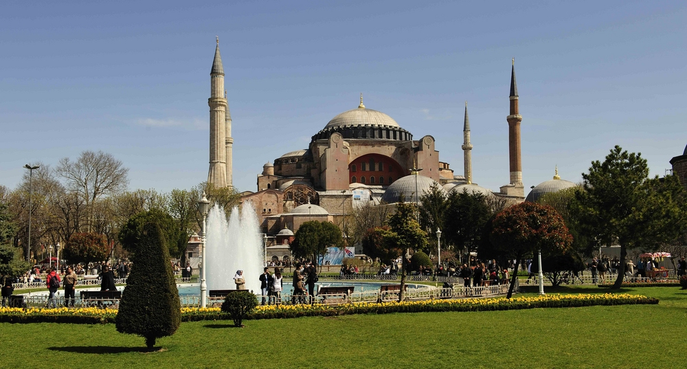 Die Hagia Sophia ist heute ein Museum
