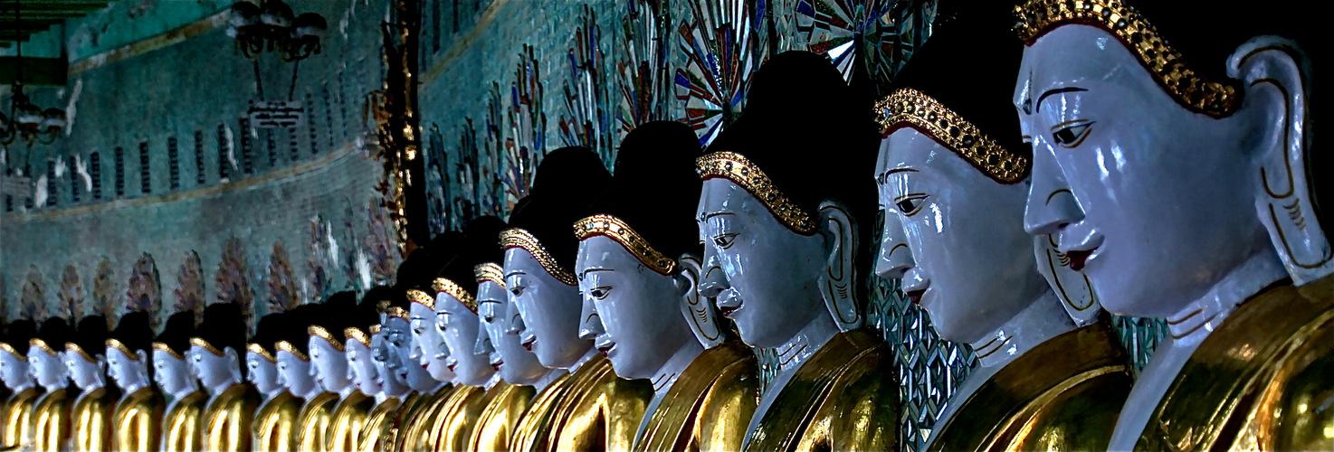 die halle der 43 buddhas