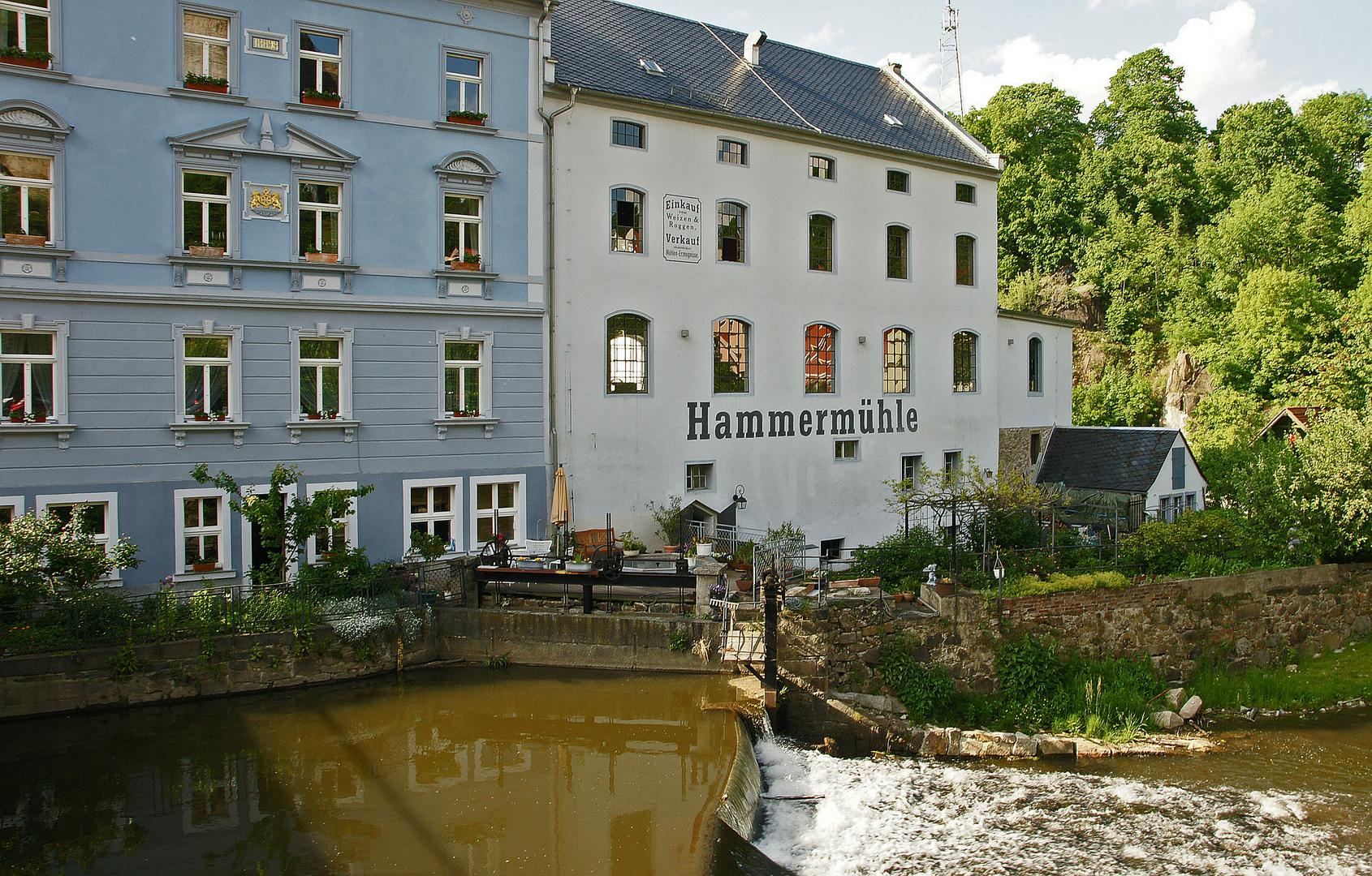 Die Hammermühle an der Spree