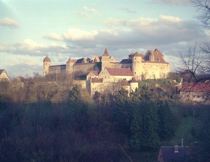 Die Harburg an der Wörnitz