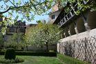 Die Harburg im Frühling