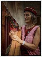 Die Harfespielerin