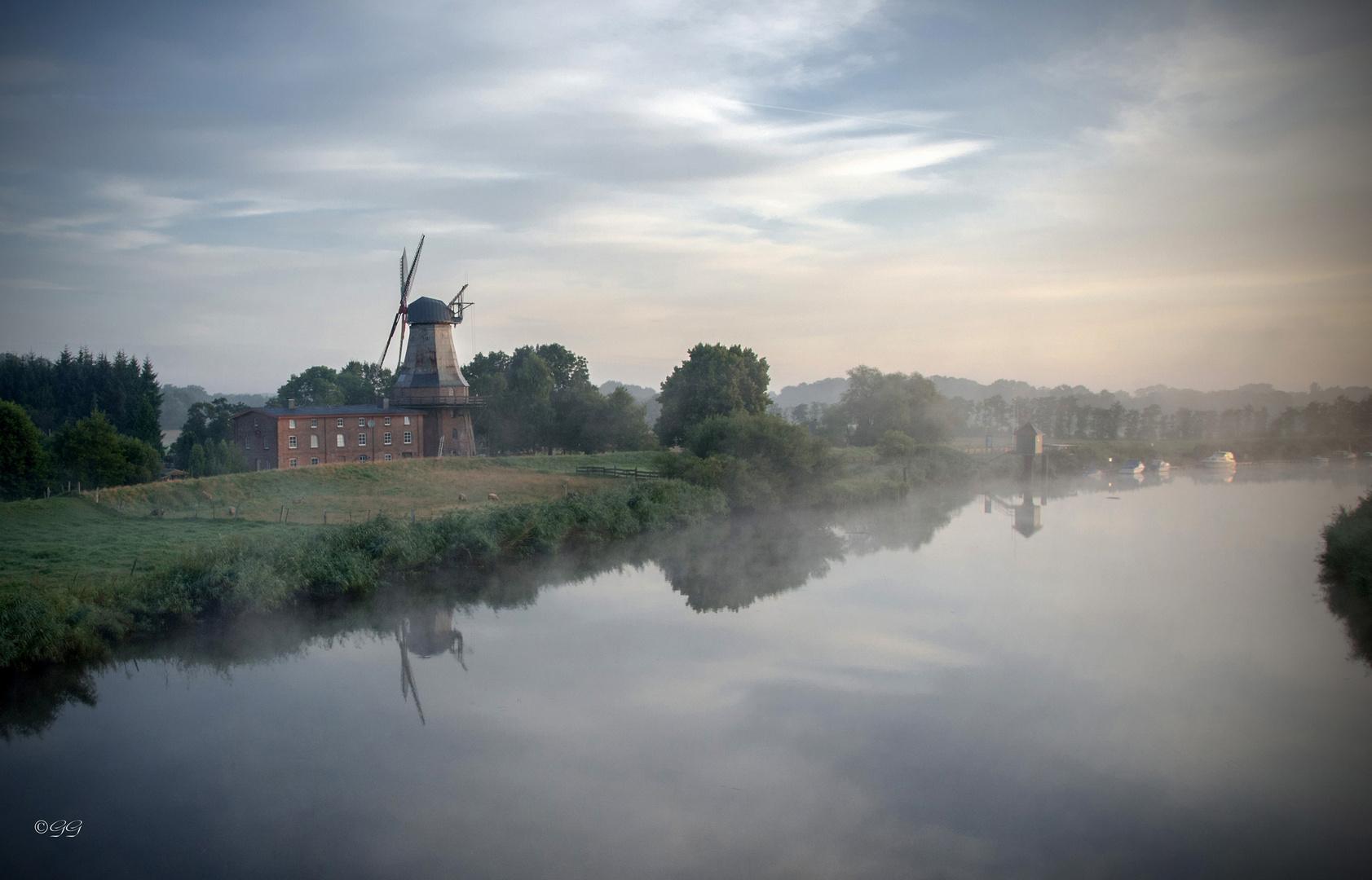 Die Hechthausener Windmühle