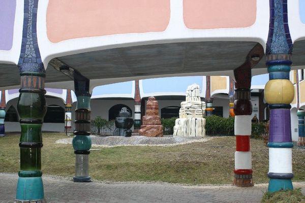 """""""die heiligen drei Könige"""" bei Hundertwasser in Bad Blumau"""