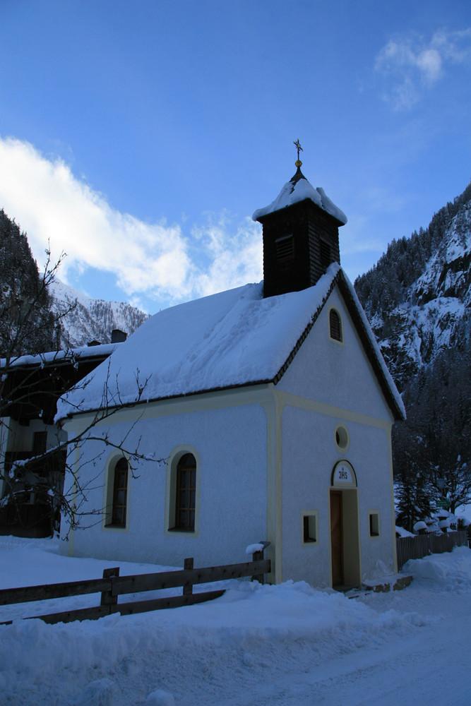 Die Herz-Jesus Kapelle in Ströden