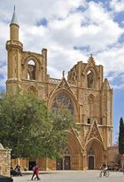 Die heute als Moschee dienende Krönungskathedrale der Lusignan-Könige in Famagusta