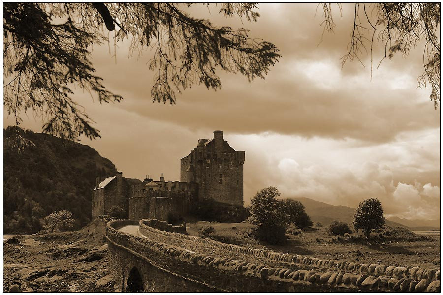 Die Highlander-Burg