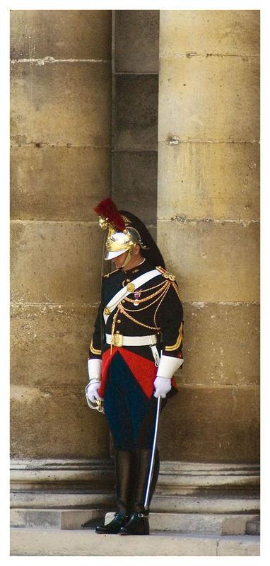 Die historische Uniform der franz. Gendarmerie