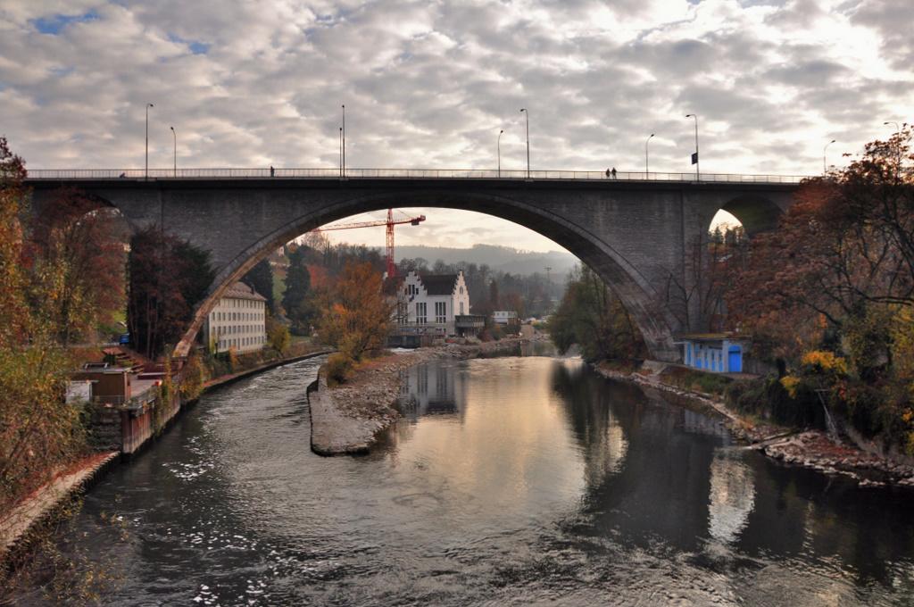 Die Hochbrücke , Baden , Schweiz