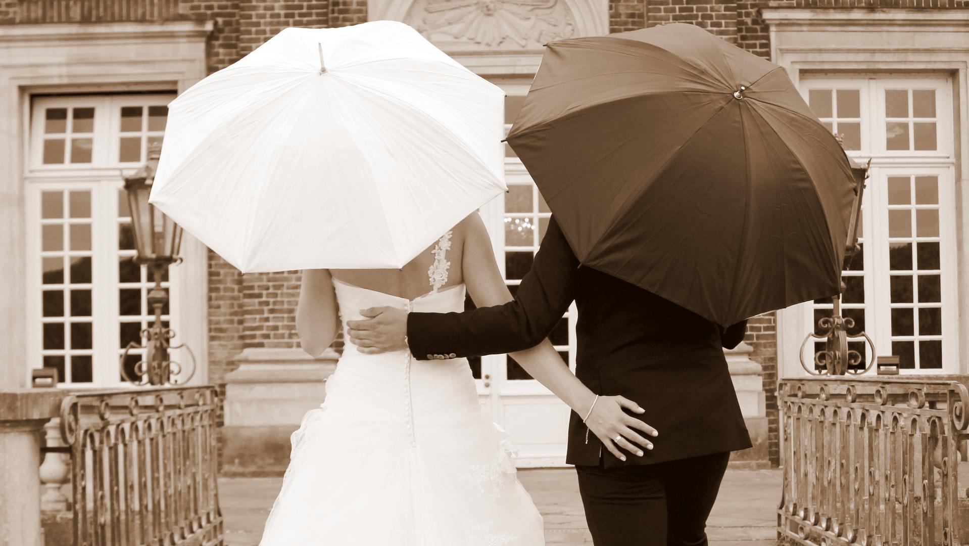 Die Hochzeitsschirme