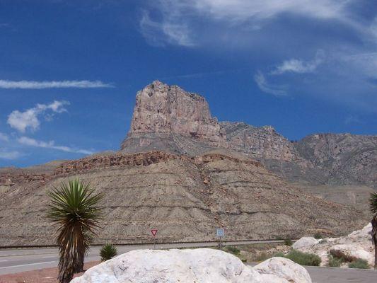 Die hoechste Erhebung in Texas - The Guadalupe Peak