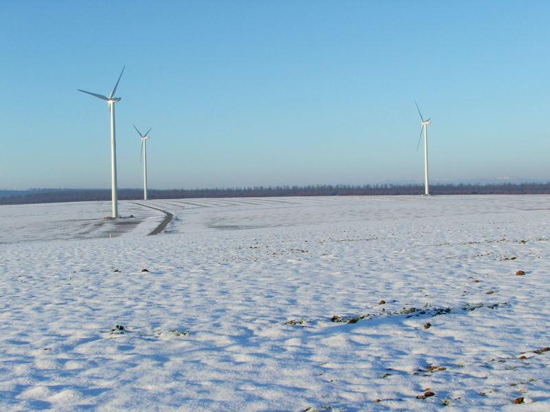 Die höchsten Windräder Österreich