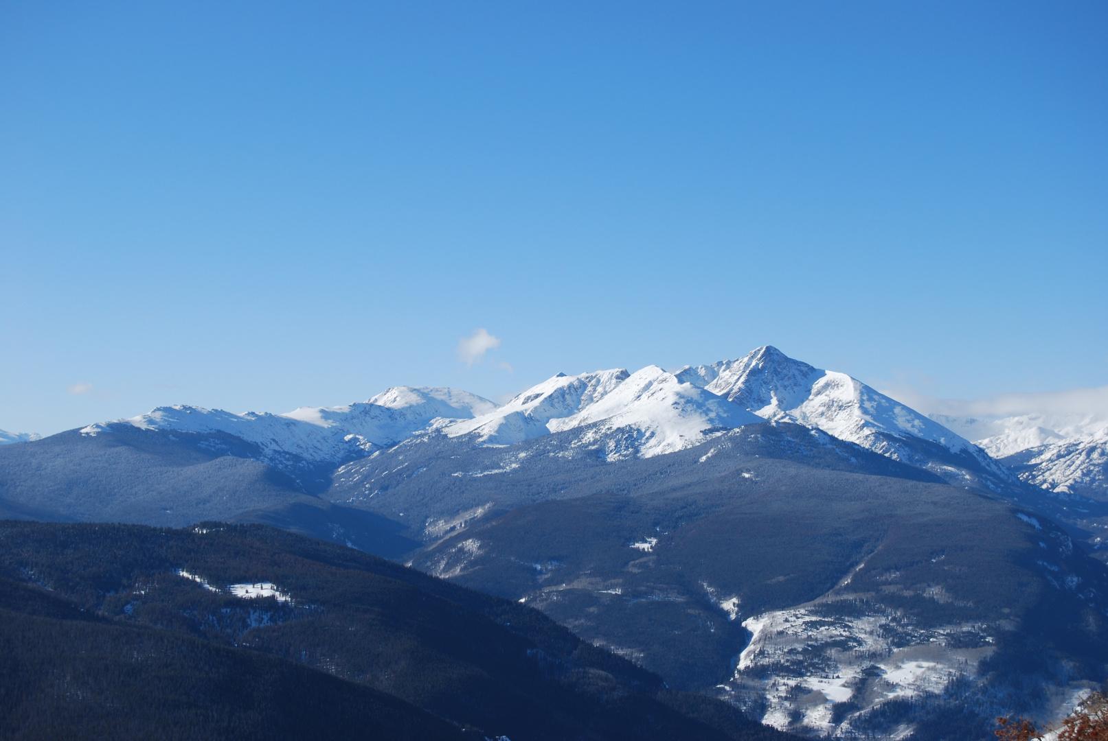 Die höheren Berge