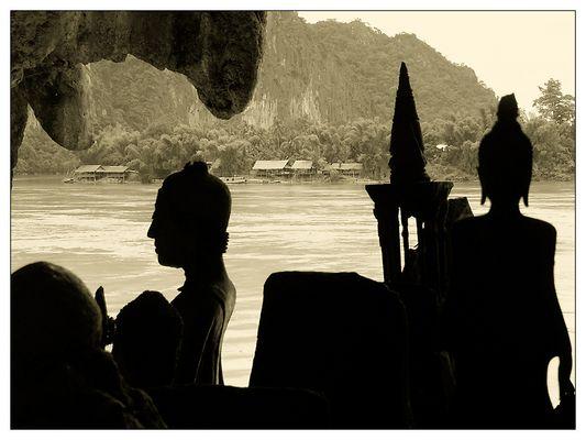 Die Höhle Tham Ting II - Pak Ou, Laos