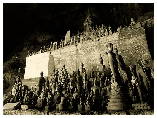 Die Höhle Tham Ting III - Pak Ou, Laos