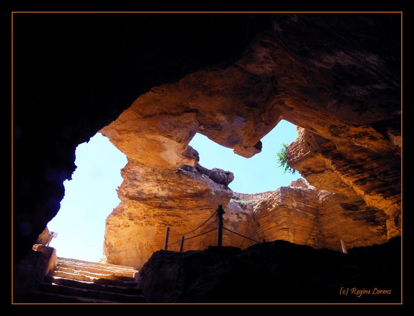 Die Höhlen von El Haouria