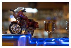 Die Honda auf dem Weihnachtsrätsel