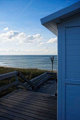 Die Hütte am Strand