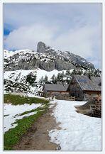 Die Hütten am Steierersee