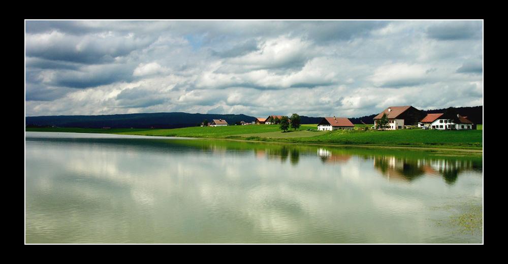 Die Idylle: Lac des Taillières