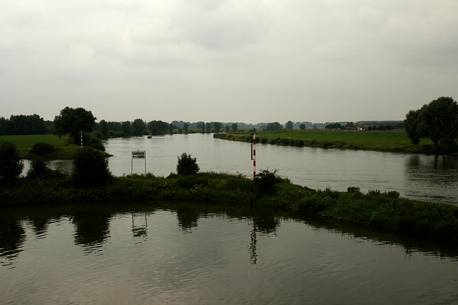 Die Ijssel bei Doesburg/Niederlande